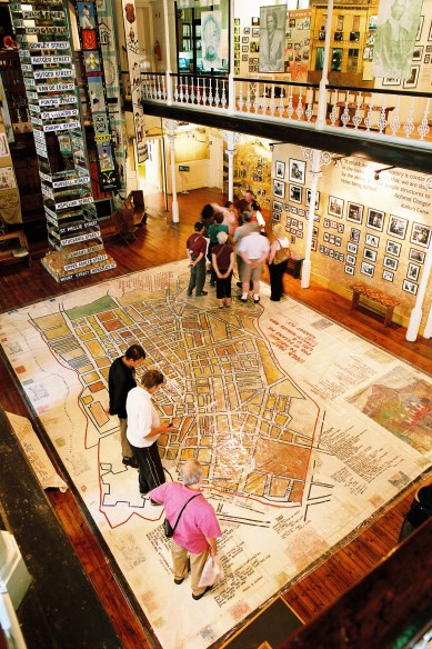 District Six Museum interior
